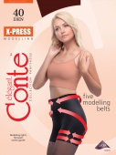 Колготки CONTE X-press 40 DEN  NERO черн. (5р)